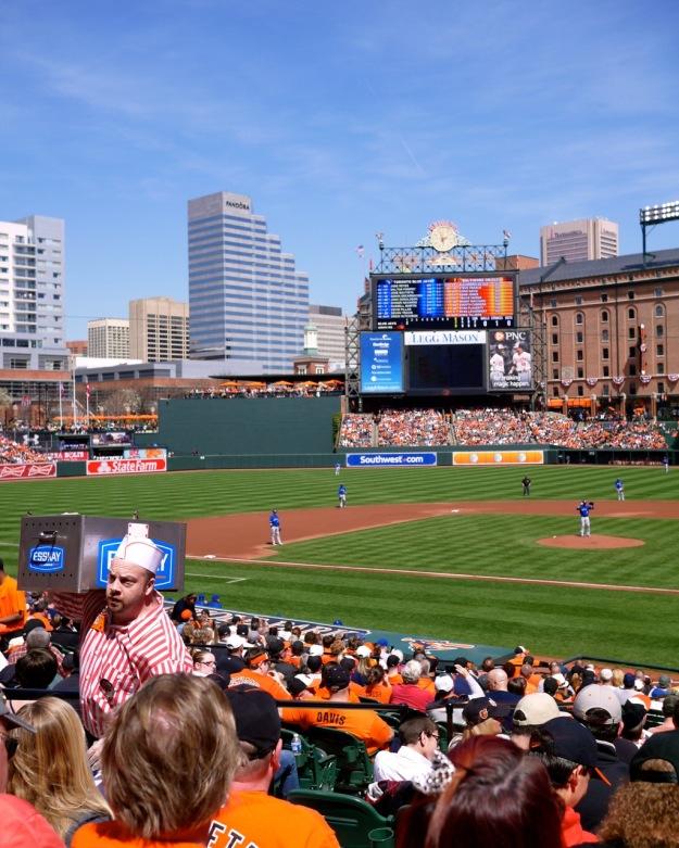 Orioles Esskay Hot Dog Man Baseball