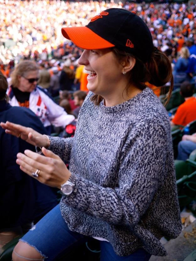 Orioles Fan Cheering Hat