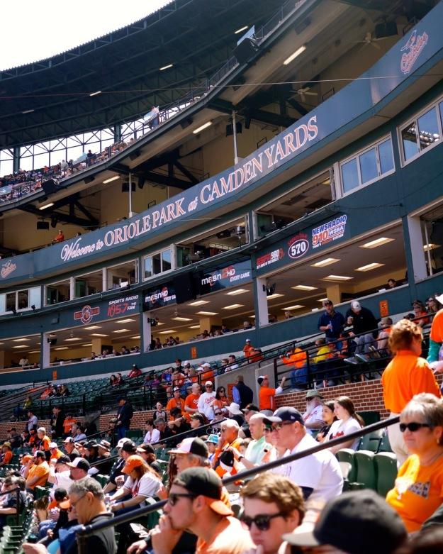 Orioles Grandstand Camden Yards