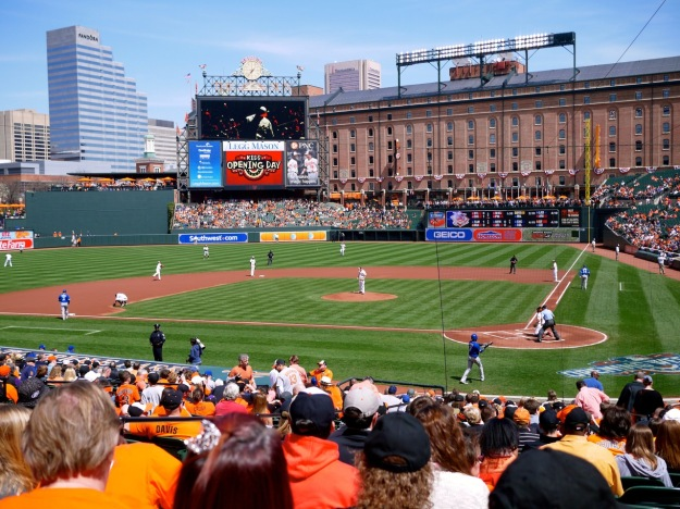 Orioles Take the Field
