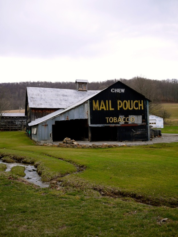 Pennsylvania Barn Mail Pouch Tobacco