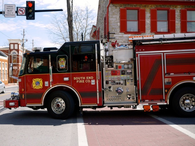 Winchester Red Fire Truck