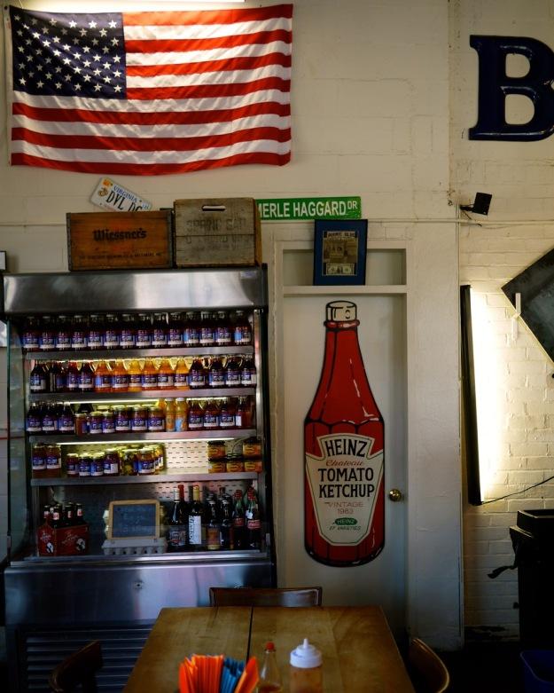 Winchester Virginia Bonnie Blue Interior American Flag BBQ