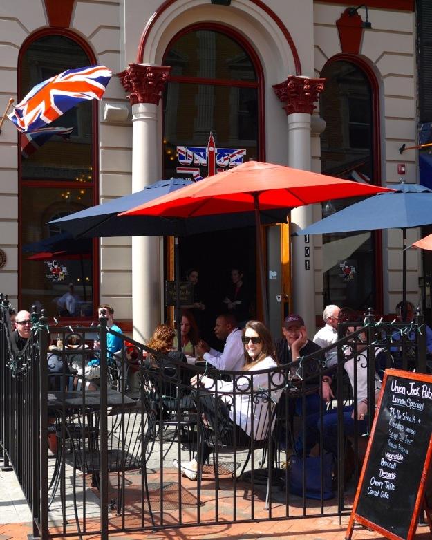 Winchester Virginia Union Jack Pub
