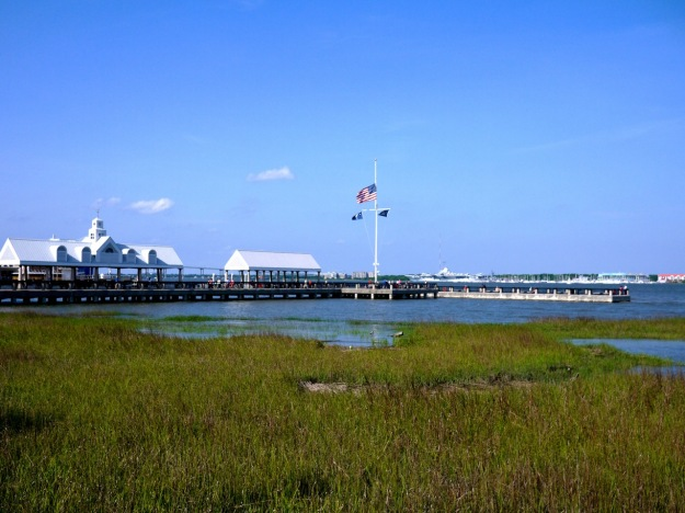 Charleston Harbor Water Taxi Pier