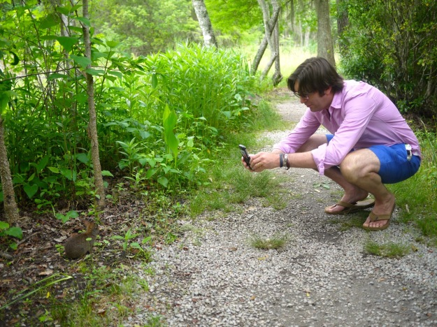 Magnolia Plantation Marsh Rabbit Photoshoot