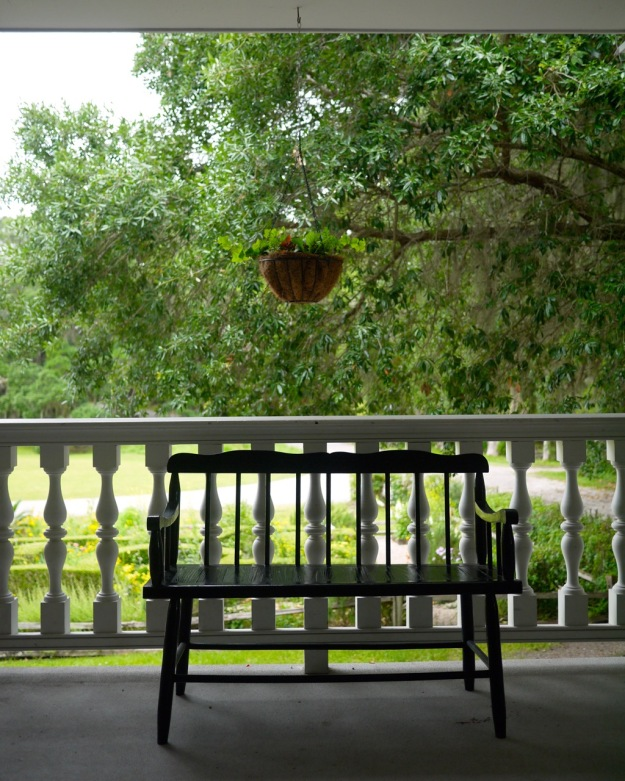 Magnolia Plantation Porch Bench