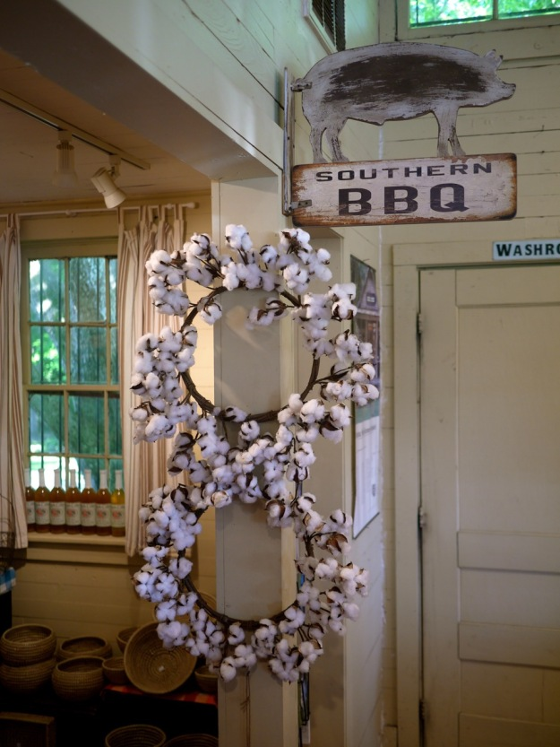 Roadside Stand Carolina Cider Company Cotton Wreath