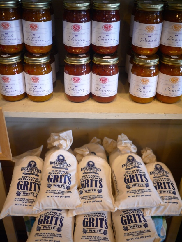 Roadside Stand Carolina Cider Company Historic Country Store Jars Grits