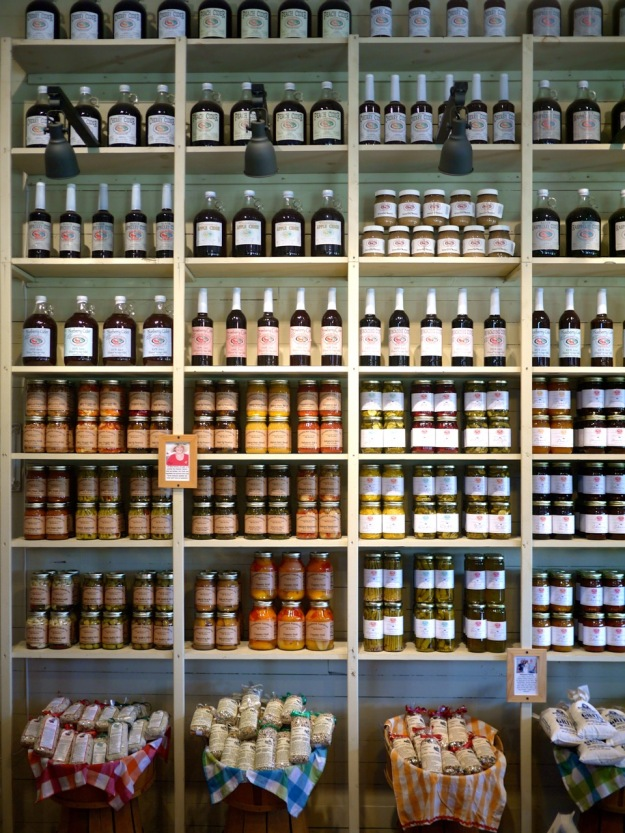 Roadside Stand Carolina Cider Company Historic Country Store Wall of Jars