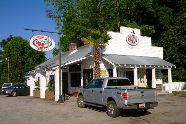 Roadside Stand Carolina Cider Company Historic Country Store
