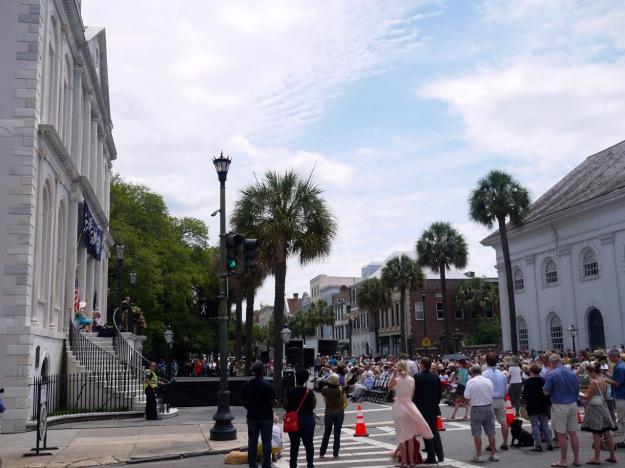 Spoleto Festival Charleston Opening Ceremonies Broad Street