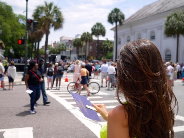 Spoleto Festival Opening Ceremonies Broad Street