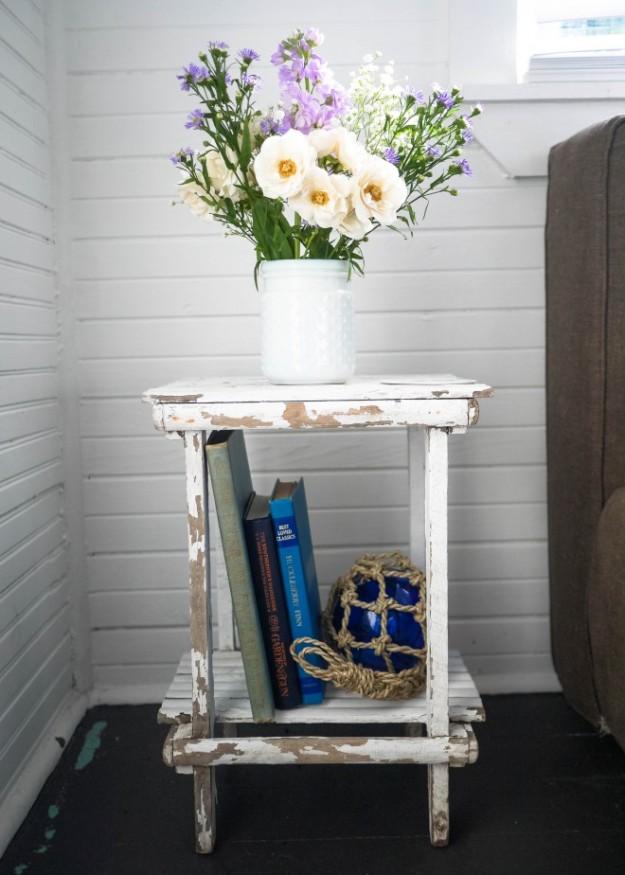 Station 19 Guest Bedroom Flowers Nightstand