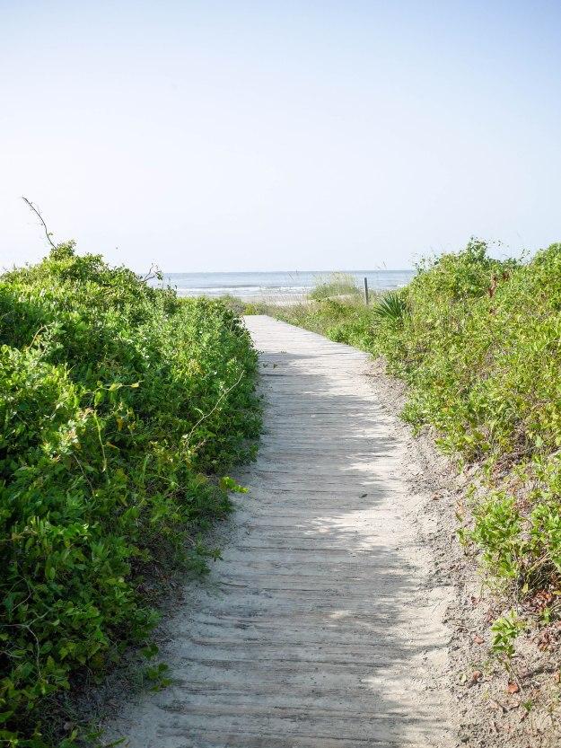 Sullivan's Island Boardwalk Beach path