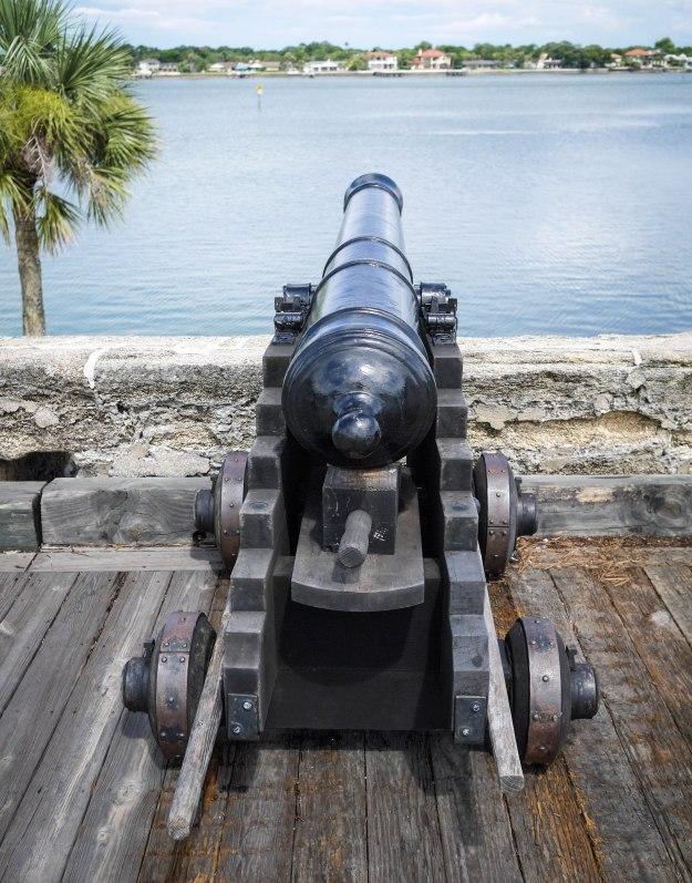 St Auguestine Castillo Cannon