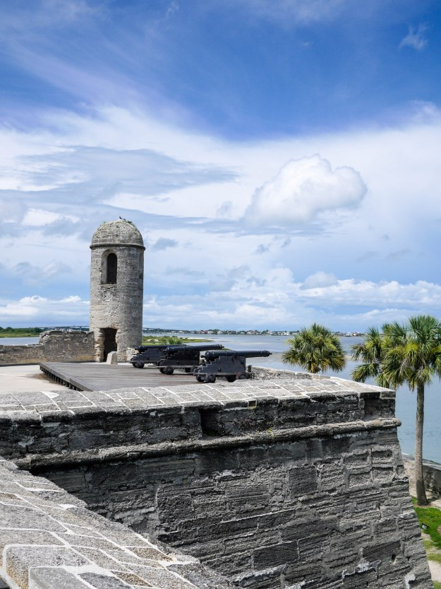 St Auguestine Castillo Rooftop Turret view