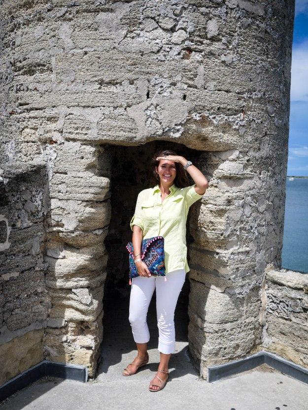 St Auguestine Castillo Turret