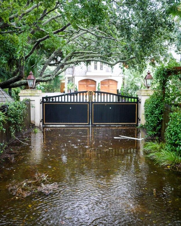 Hurricane Joaquin Sullivan's Island Ion Drive