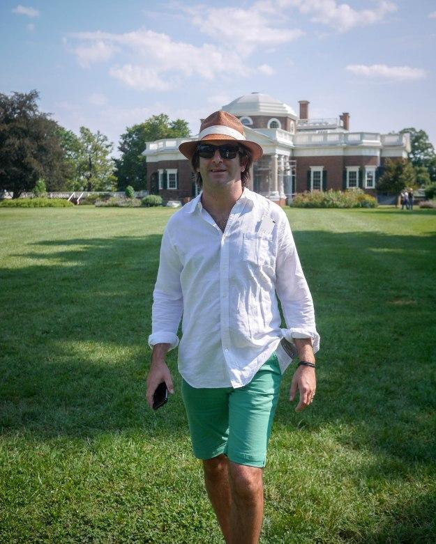 Monticello back lawn