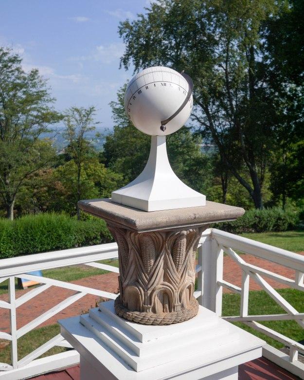 Monticello deck sundial