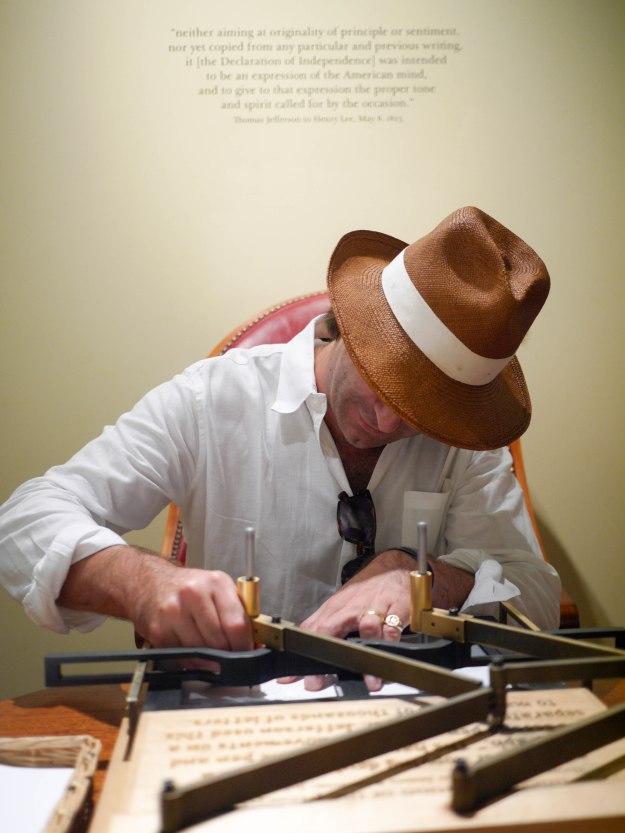 Monticello letter copier demo discovery