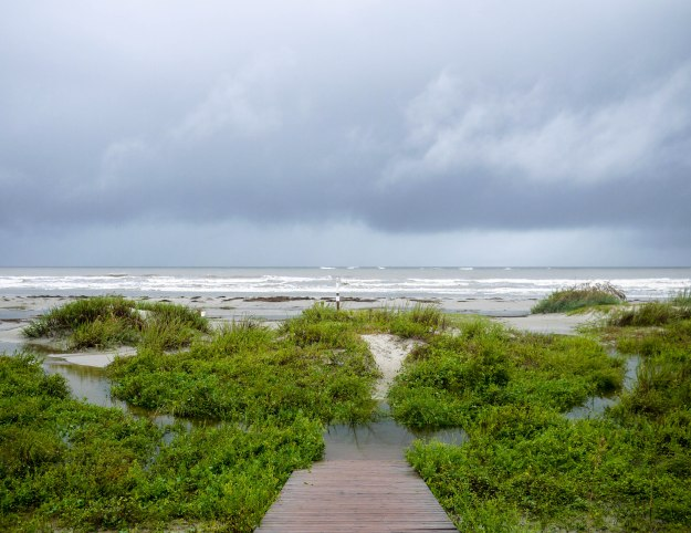 Hurricane Joaquin Sullivan's Island Flooding Beach View