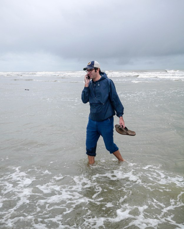 Hurricane Joaquin Sullivan's Island Flooding Beach Water