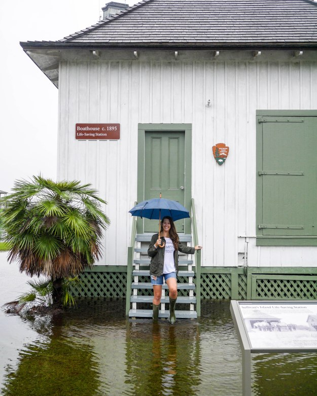 Hurricane Joaquin Sullivan's Island Flooding Boathouse