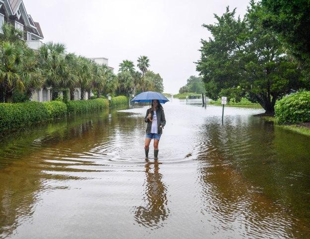 Hurricane Joaquin Sullivan's Island Flooding
