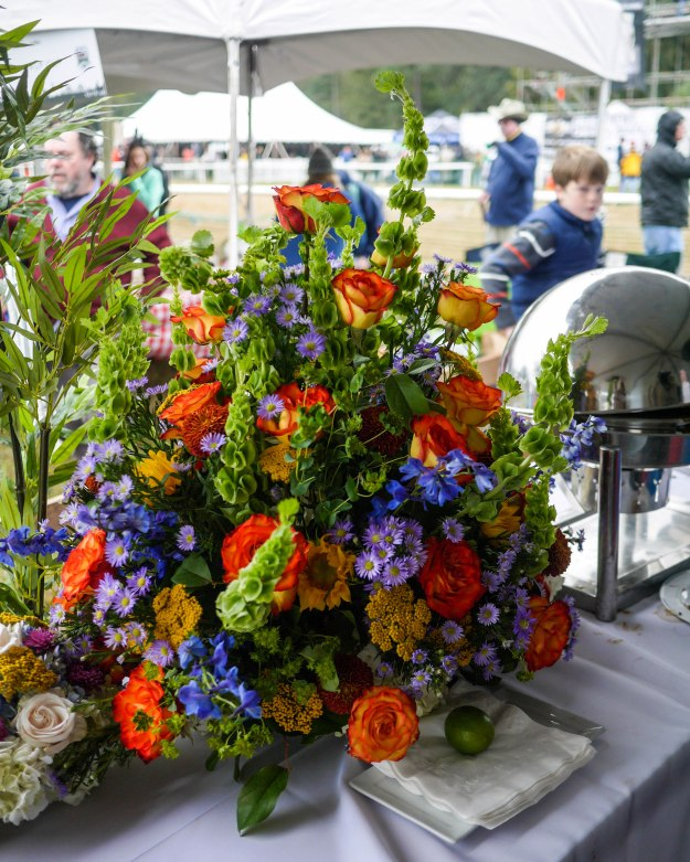 Charleston Cup 2015 Tent Catering Food Flowers