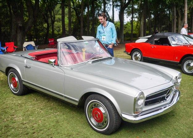1968 Mercedes-Benz 280SL Pagoda Style