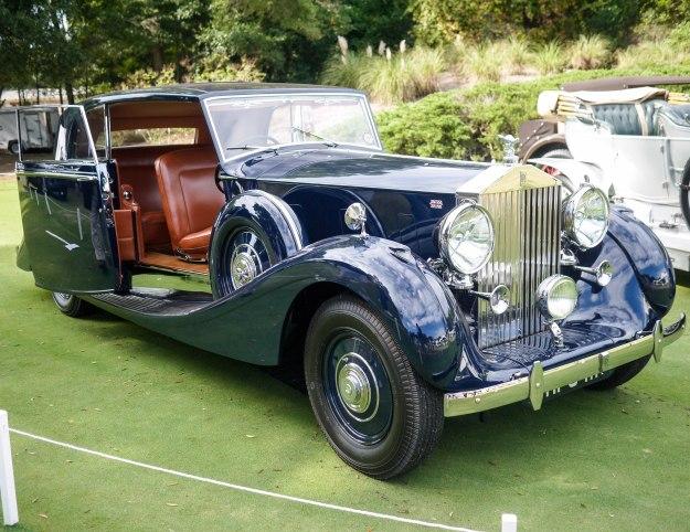 hilton Head Car Show 1947 Rolls Royce Silver Wraith