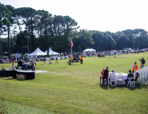 hilton Head Car Show Track View