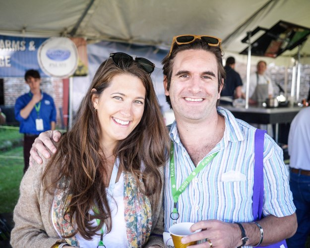 Savannah Food Wine Festival Couple