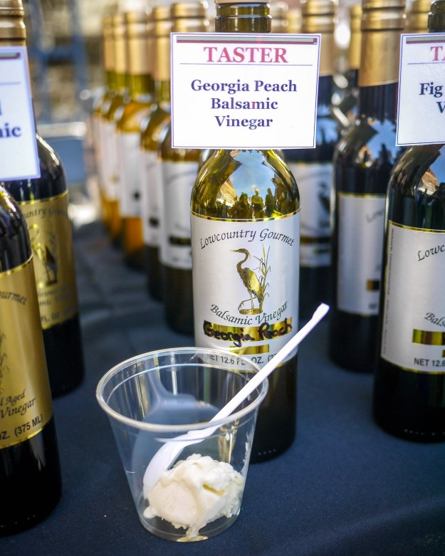 Savannah Food Wine Festival Georgia Peach Balsamic Vinegar