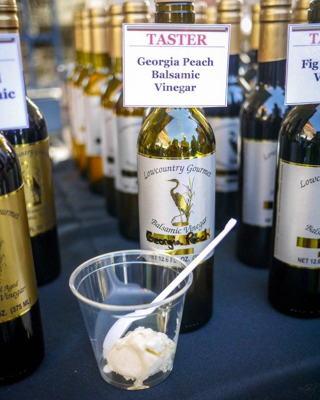 Savannah Food Wine Festival Georgia Peach Balsamic Vinegar
