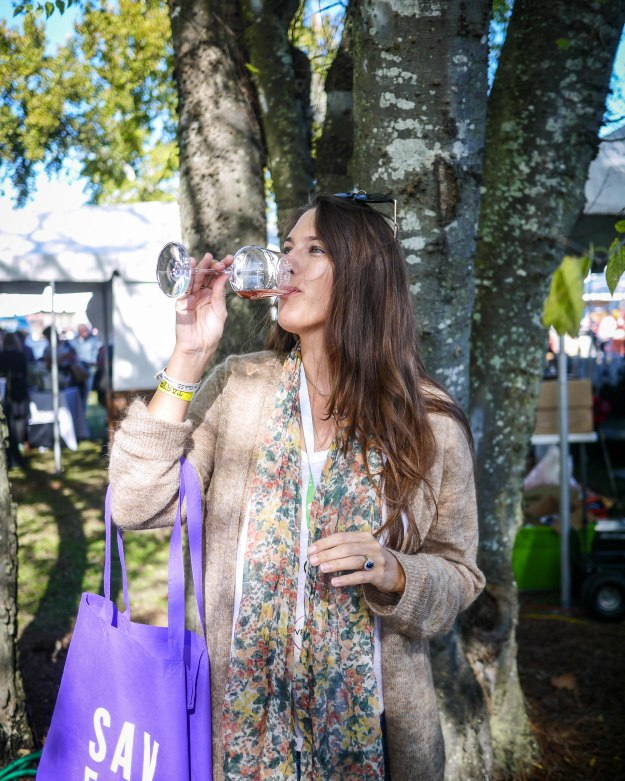 Savannah Food Wine Festival Sip Nicolas Feuillatte Ste Michelle Wine Estates Sparkling Rose Bottle