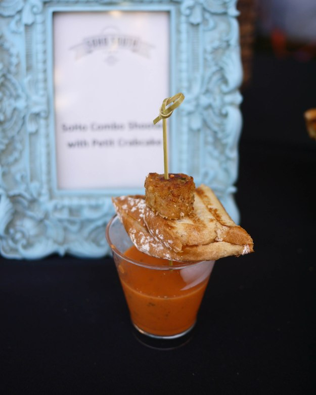 Savannah Food Wine Festival SoHo South Combo Shooter with Petit Crabcake