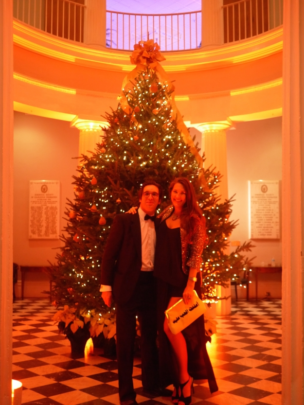 Founders Ball Christmas Tree