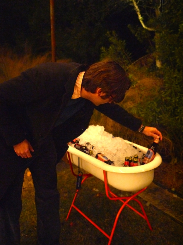 Garden Gun Jubilee Oyster Roast beer