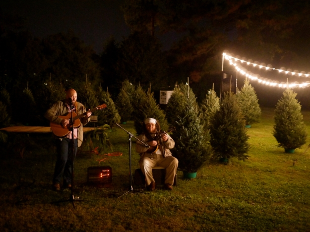 Garden Gun Jubilee Oyster Roast entrance bluegrass