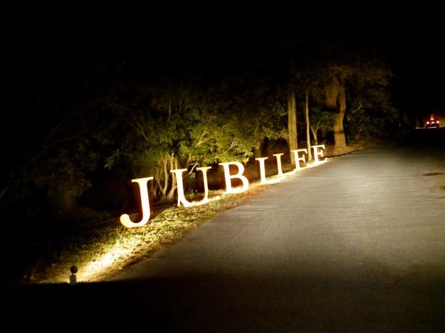 Garden Gun Jubilee Oyster Roast entrance