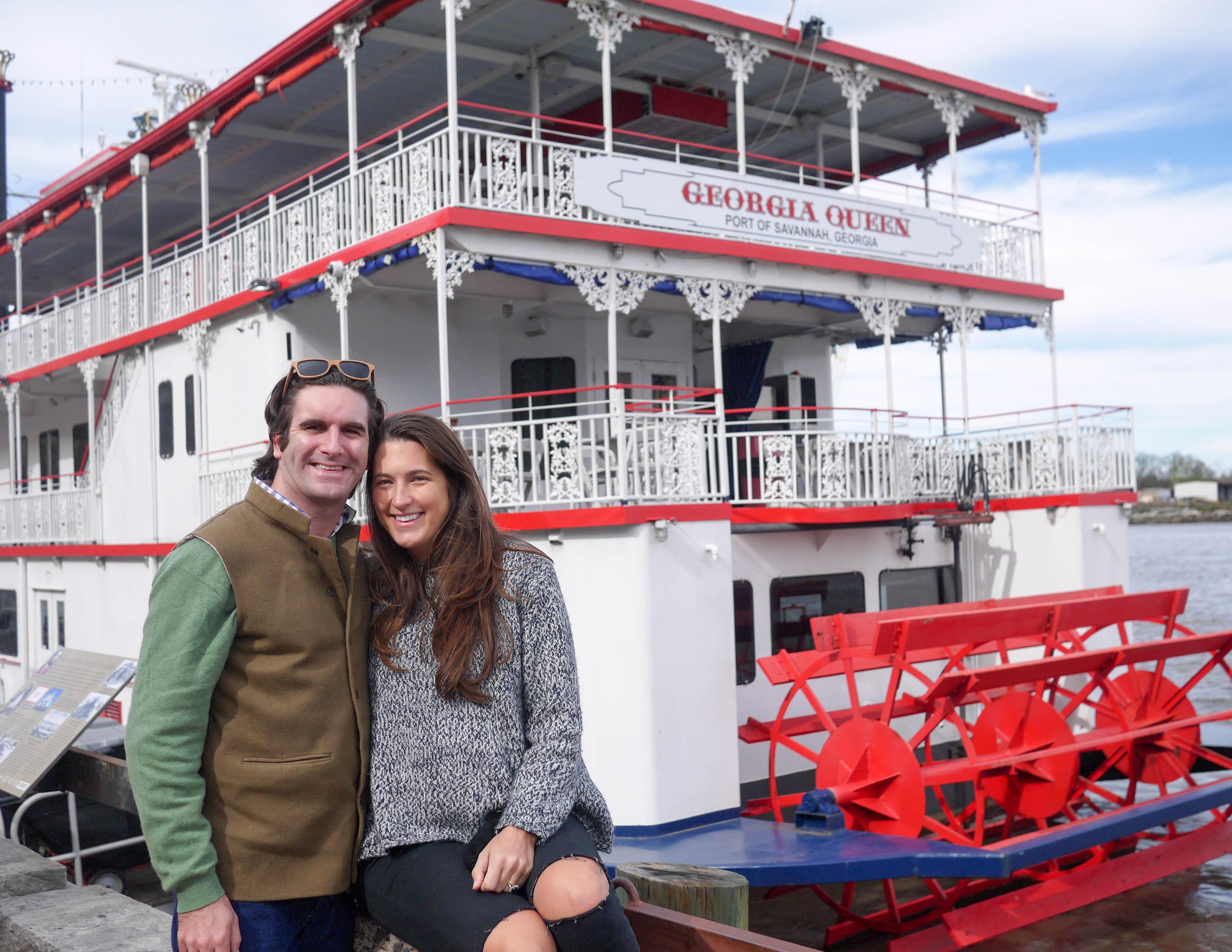 Savannah Steamboat Georgia Queen Kirks