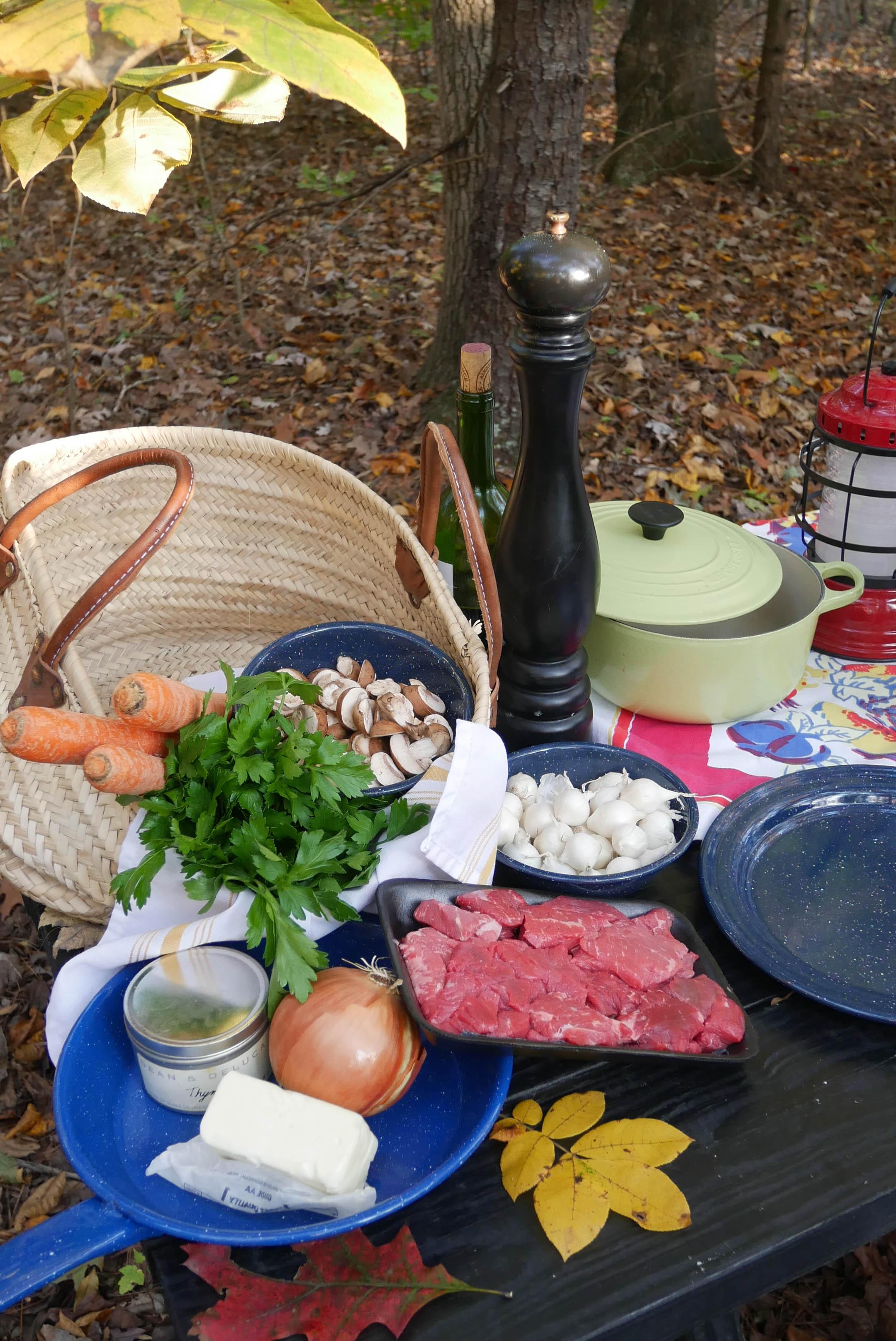 getaway cabin beef bourg basket