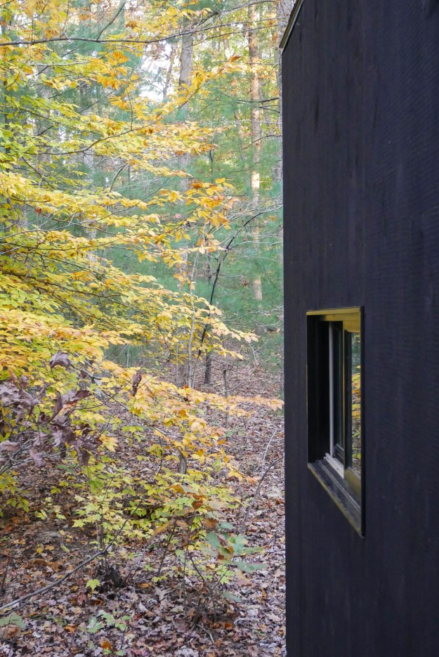 getaway cabin side